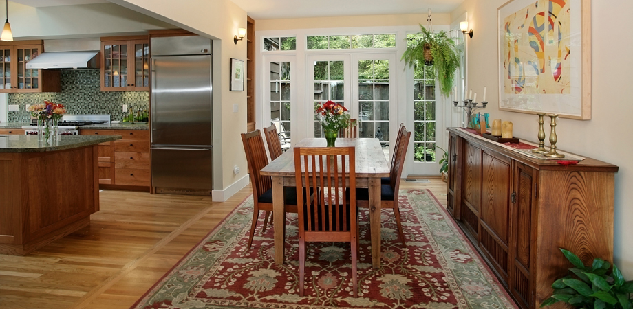 Berkeley Craftsman Dining Room